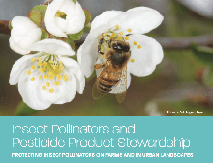 Insect Pollinators and Pesticide Product Stewardship